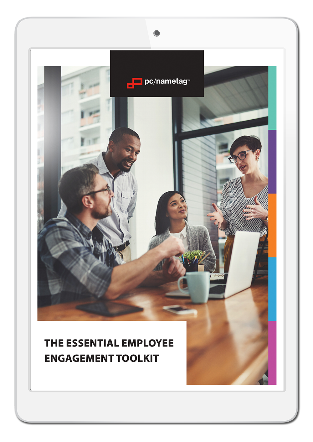 Employee Engagement Ebook in iPad copy