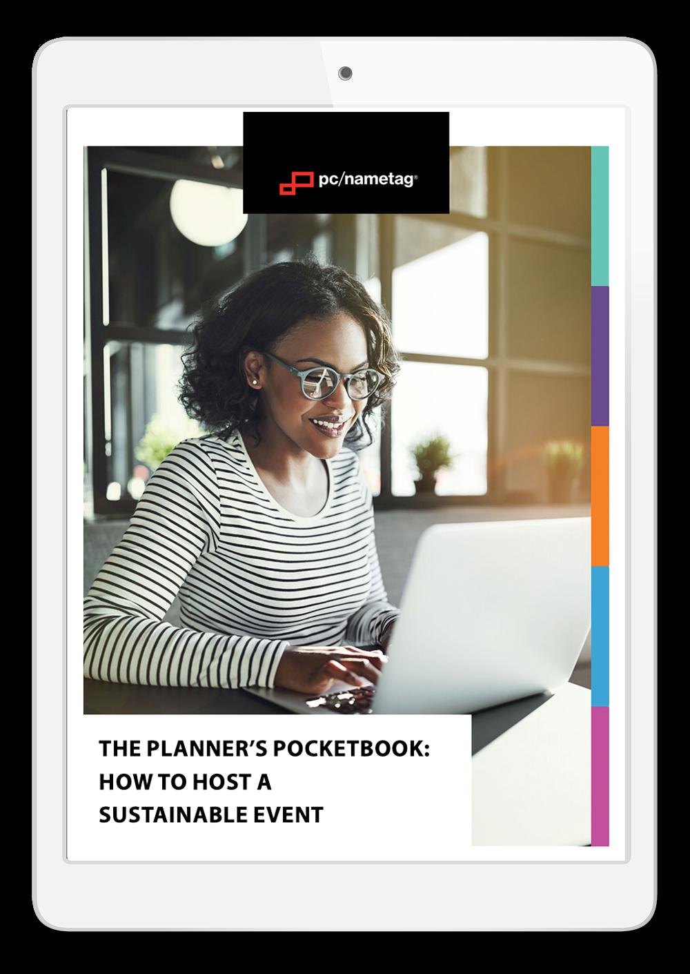 Sustainable Event Ebook in iPad